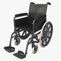 wheelchair wheel chair 3ds