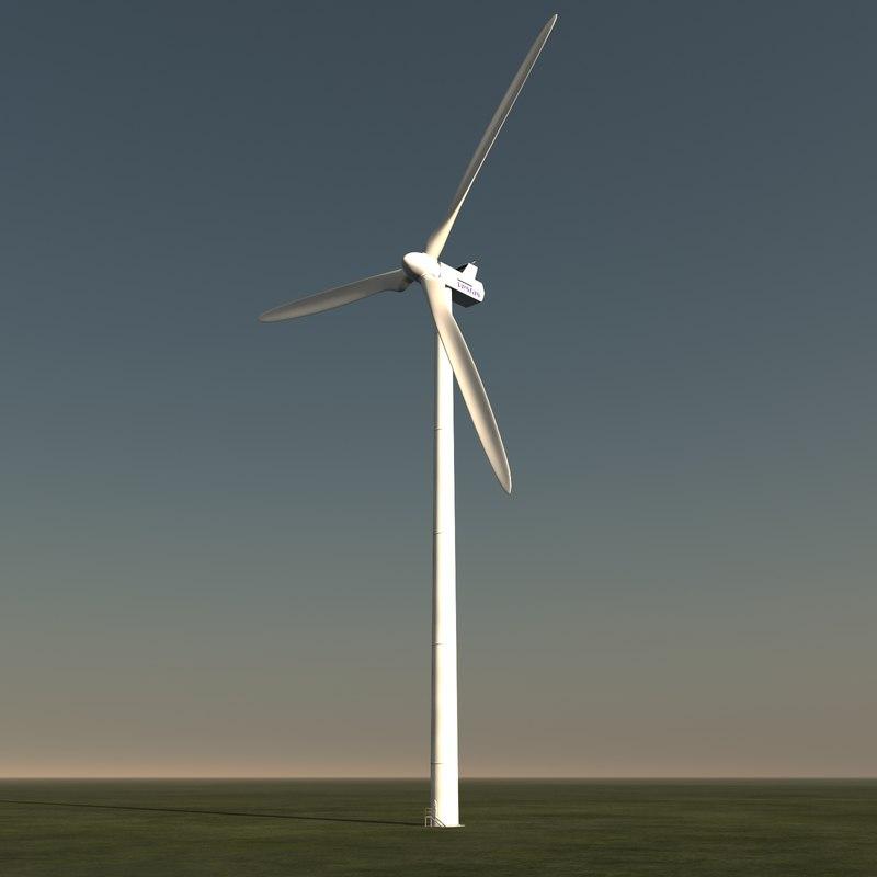 vestas windturbine turbine 3d model