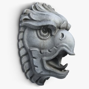 griffon head sculpture max