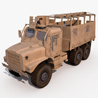 oshkosh mtvr mk25 3d model
