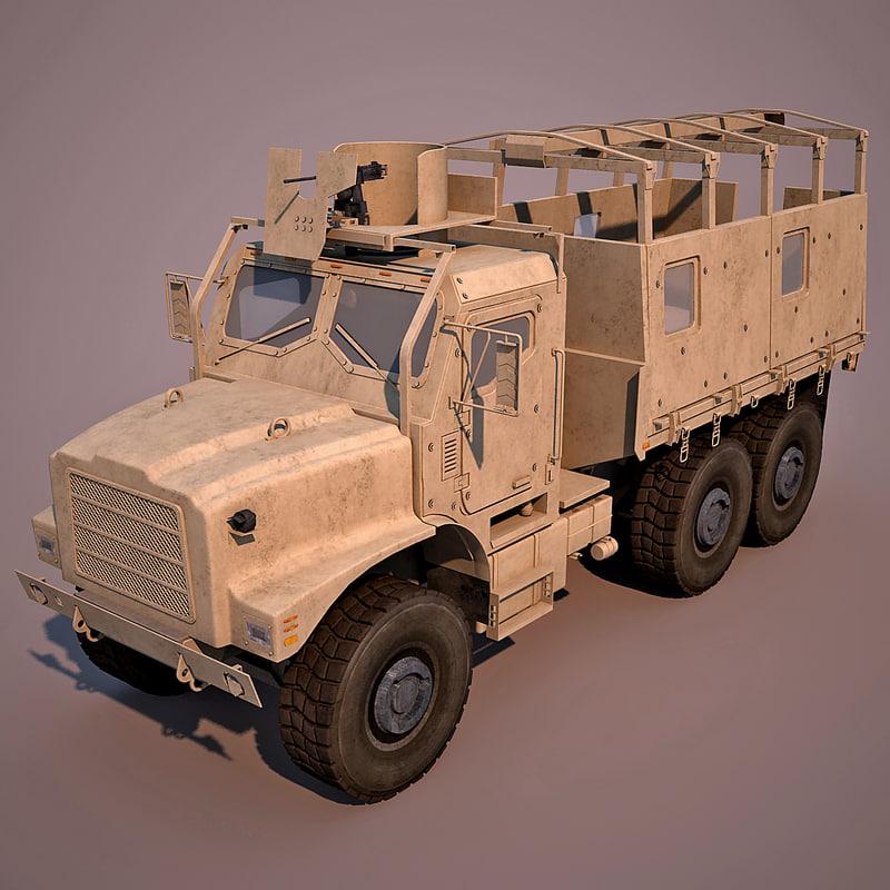 oshkosh mtvr mk25 3d model