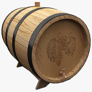 3ds wine barrel 4