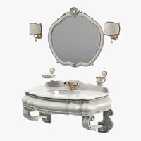 Mobili Di Castello Bathroom Furniture Set