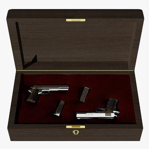 amt guns 3d obj