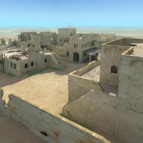 obj arab ruined village
