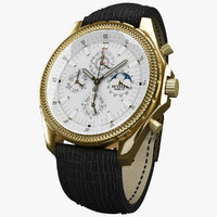 3d breitling perpetual mark vi model