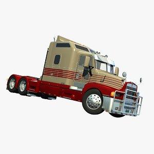 t-600 truck 3d lwo
