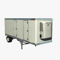 great dane 28ft reefer 3d lwo