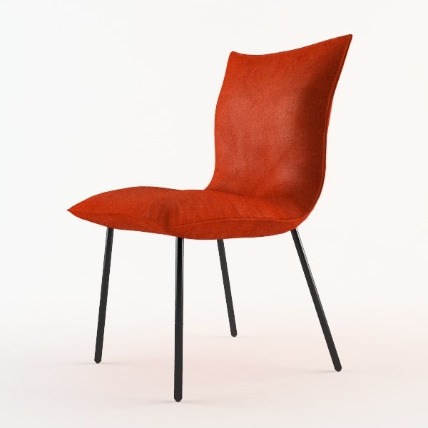 3ds max calin chair design