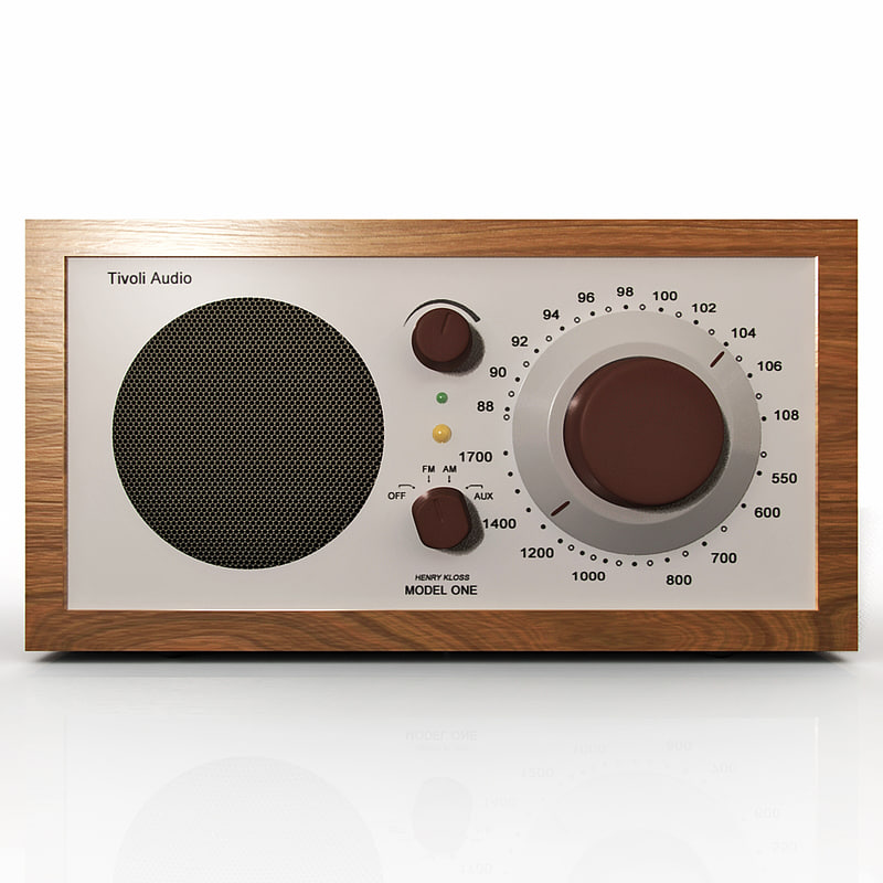 3d obj tivoli radio