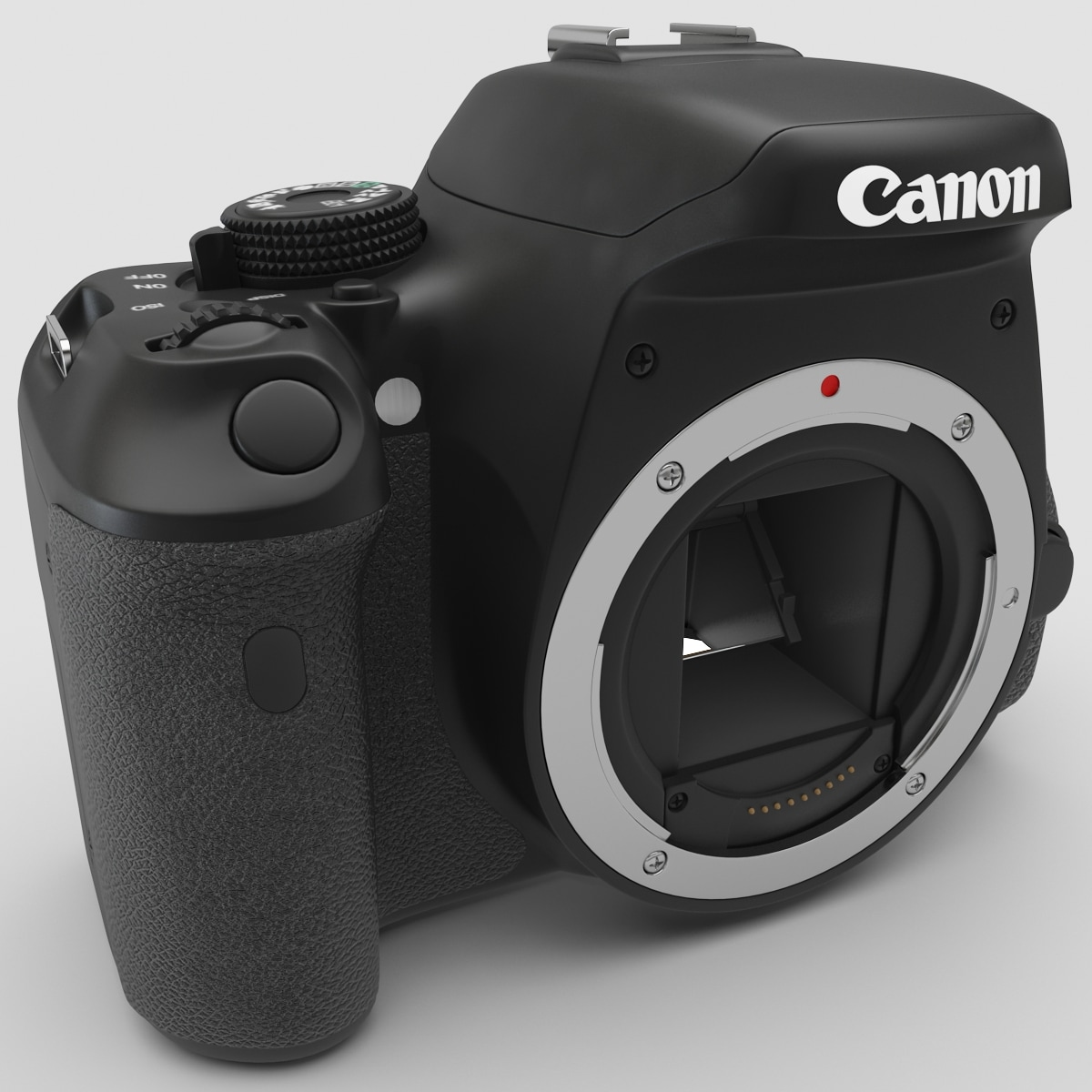 canon eos 600d body 3d 3ds