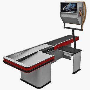 cash counter 11 3d 3ds