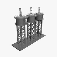 Chemical Storage Towers