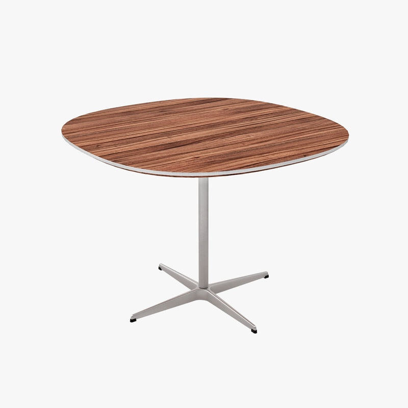 3d tables designed arne