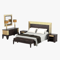 Smania Master Night Tono Bedroom Furniture Set