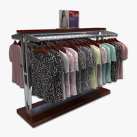 Womens Blouse Display Rack
