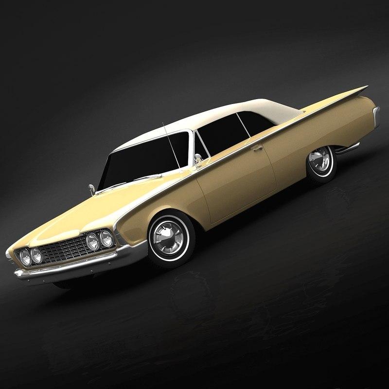 1960 sunliner c4d