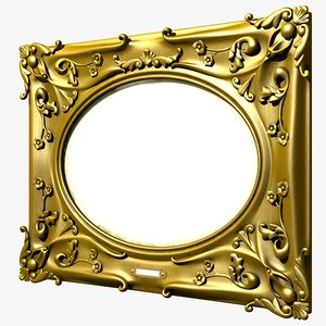 3d picture mirror frame