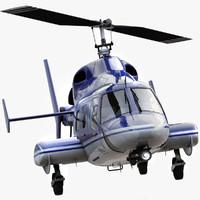 Bell 222 Blue