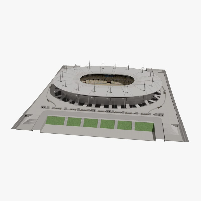 stade france football stadium 3d model. Black Bedroom Furniture Sets. Home Design Ideas