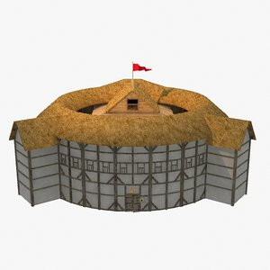 globe theatre 3d model