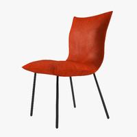 3ds max calin chair design