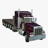 357 truck platform 3d lwo