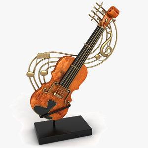 violin decoration max