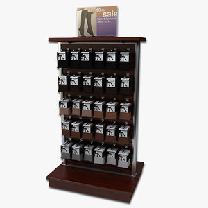 display rack women s 3d model