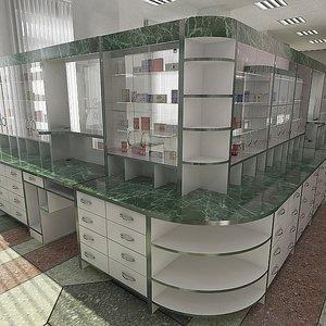 3d pharmacy apothecary