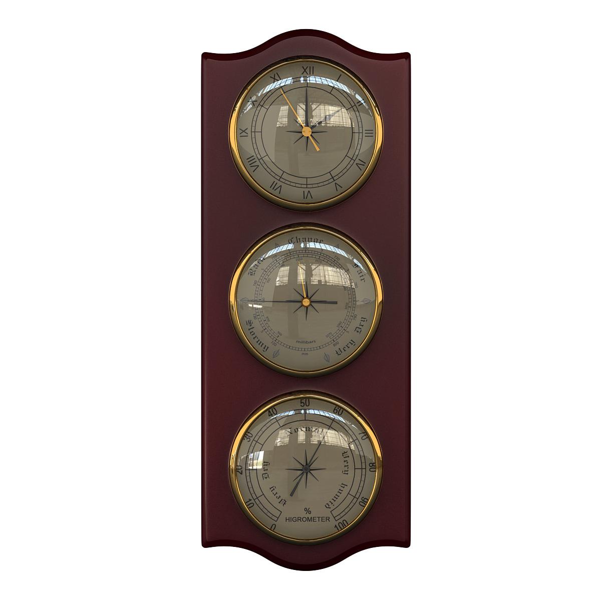 3d model barometer 2