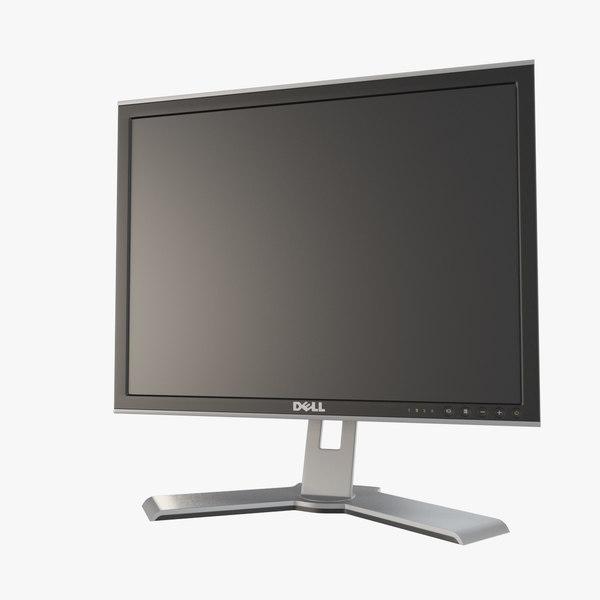 3d max monitor dell 2007 fp