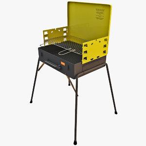 3d model grill 9
