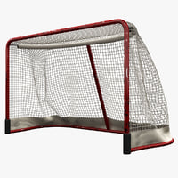 3d model hockey gates