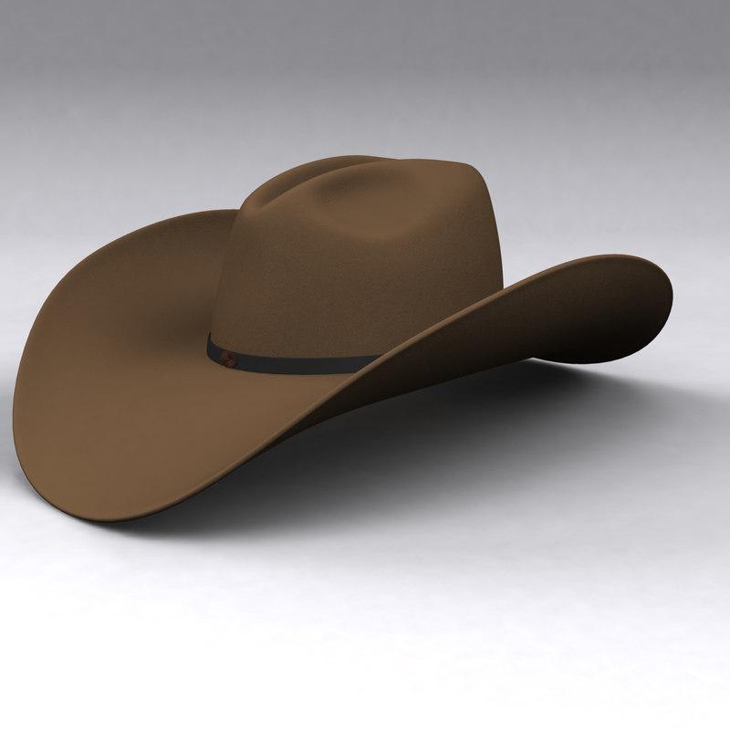 boy hat fbx