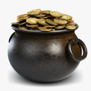 iron pot gold coins max