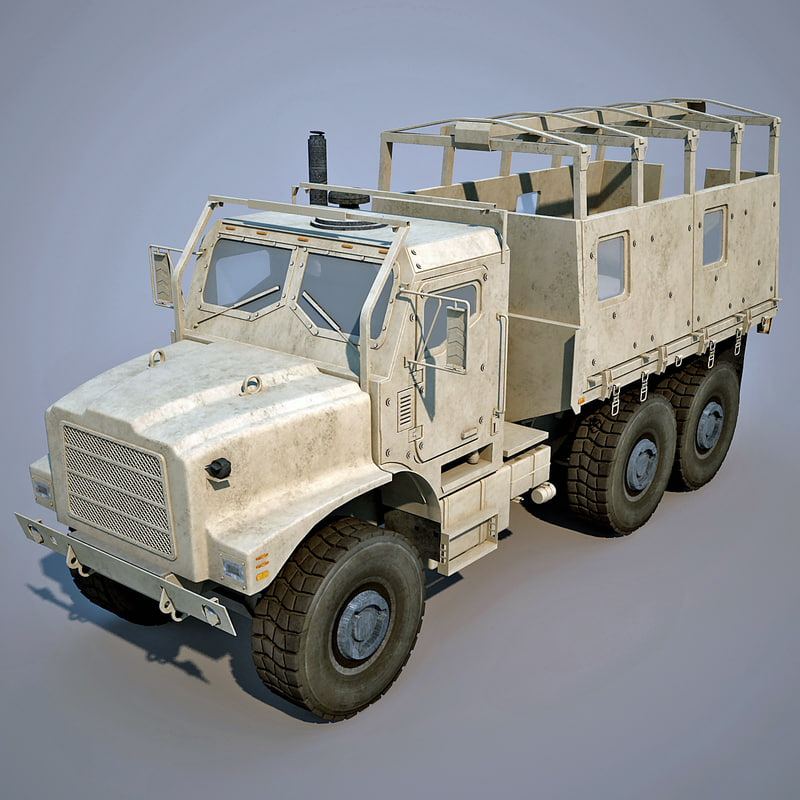 3d oshkosh mtvr mk25 2 model