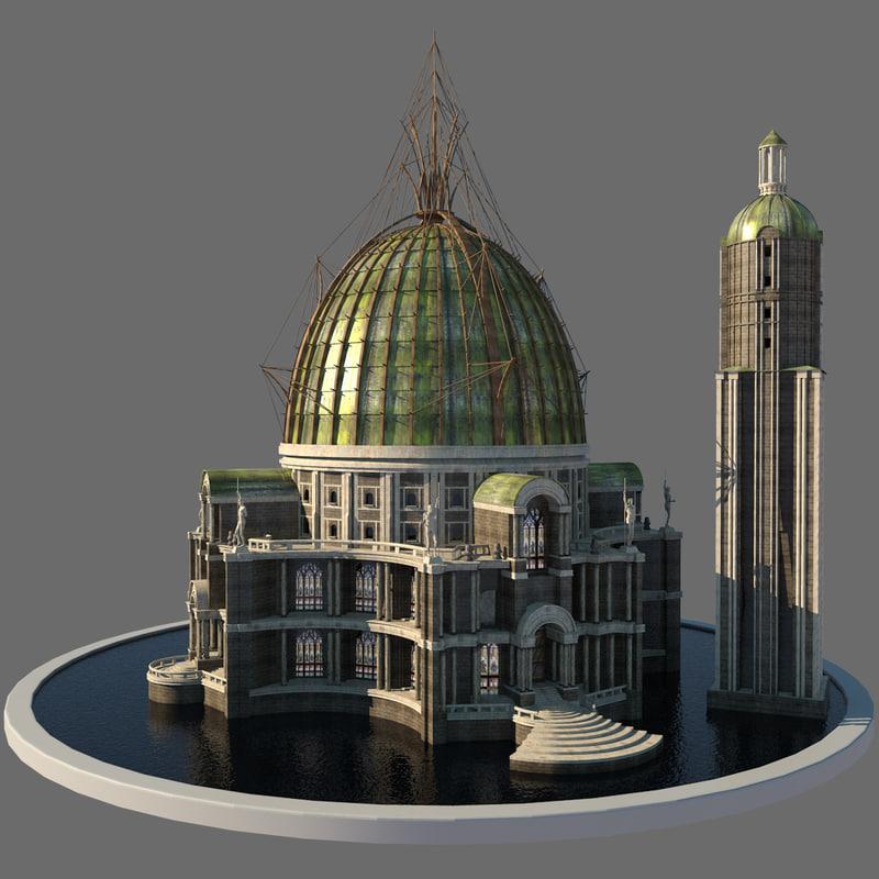 3d fantasy palace
