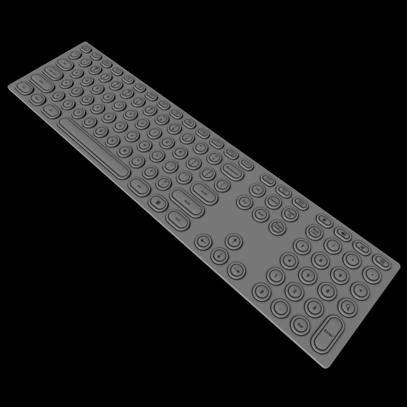 keyed keyboard ma
