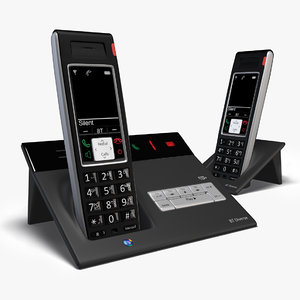 3d bt cordless phone model