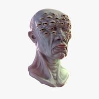 watch head 3d model