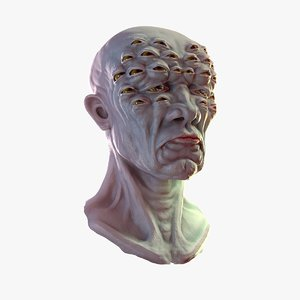 watch head 3d model