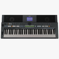 yamaha psr s650 keyboard 3d 3ds