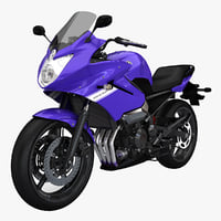 yamaha diversion 3d model