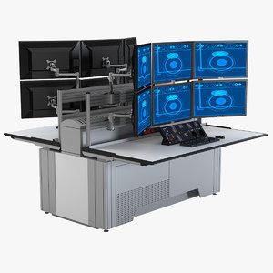 sbfi trading desk 3d max