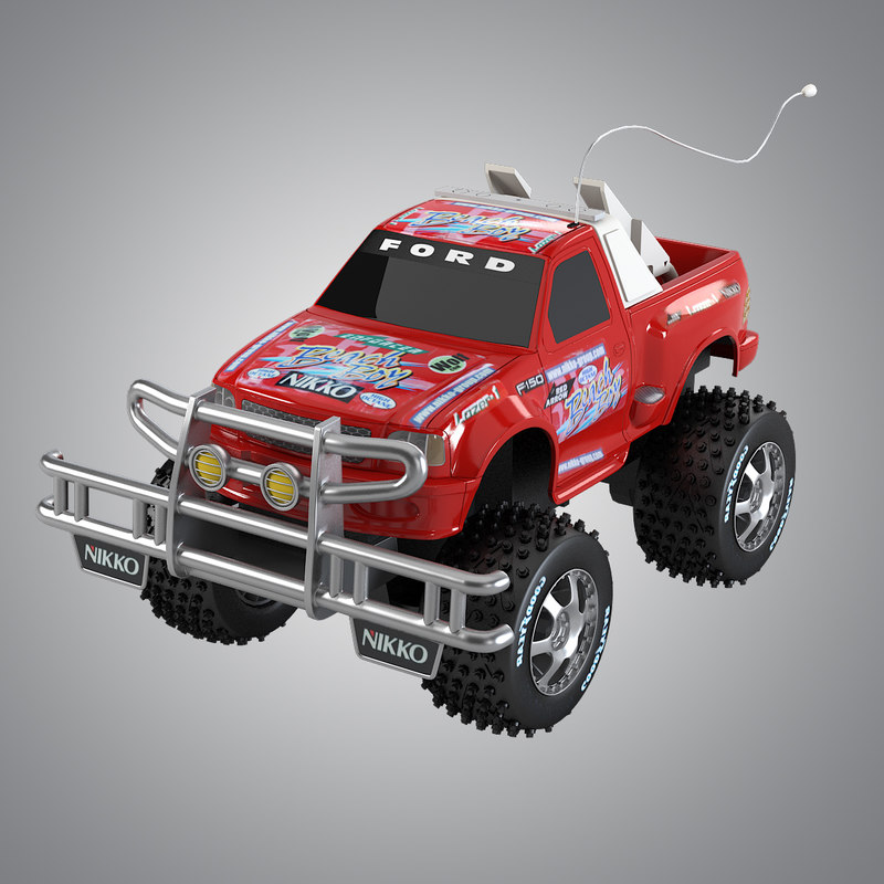 bigfoot toy car 3d model