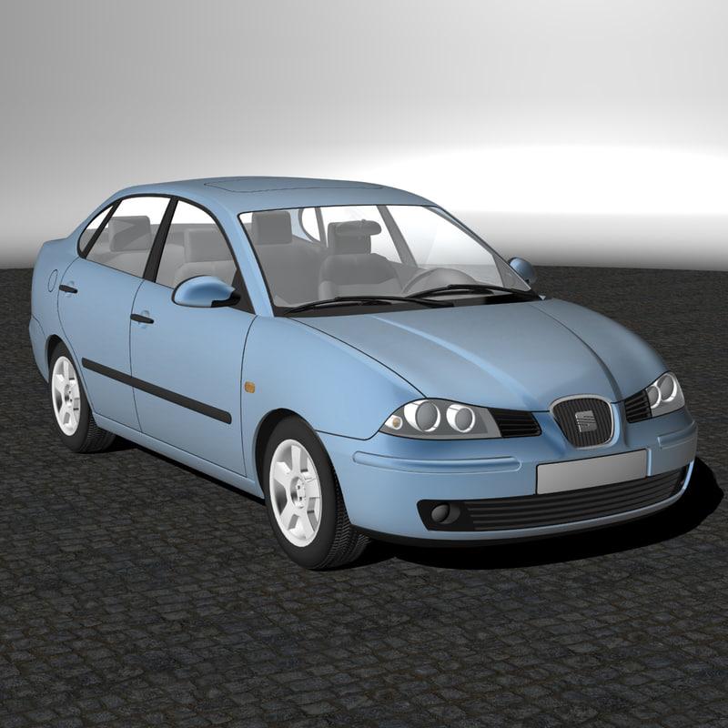 3d model seat cordoba 2008