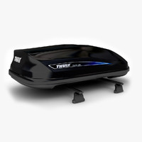Thule Roof Car Rack Black