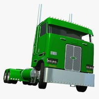 Peterbilt 362 Green Jolly