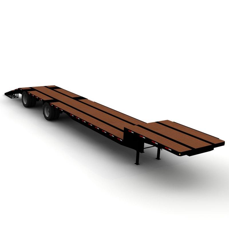 stepdeck trailer doonan lwo